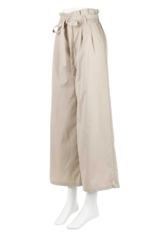 RibbonTiedWideLegPantsレーヨン混・リボンワイドパンツ大人カジュアルに最適な海外ファッションのothers(その他インポートアイテム)のボトムやパンツ。春らしいソフトな風合いの生地を使用したワイドパンツ。レーヨン混のサラリとした風合いのワイドパンツ。/main-1