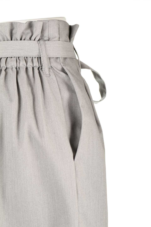 RibbonTiedWideLegPantsレーヨン混・リボンワイドパンツ大人カジュアルに最適な海外ファッションのothers(その他インポートアイテム)のボトムやパンツ。春らしいソフトな風合いの生地を使用したワイドパンツ。レーヨン混のサラリとした風合いのワイドパンツ。/main-13