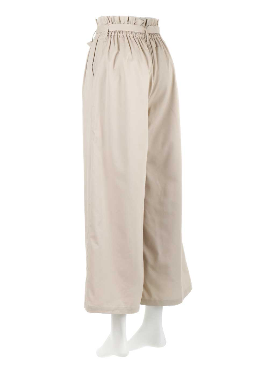 RibbonTiedWideLegPantsレーヨン混・リボンワイドパンツ大人カジュアルに最適な海外ファッションのothers(その他インポートアイテム)のボトムやパンツ。春らしいソフトな風合いの生地を使用したワイドパンツ。レーヨン混のサラリとした風合いのワイドパンツ。/main-3