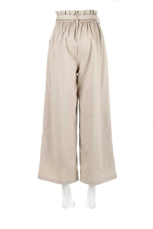 RibbonTiedWideLegPantsレーヨン混・リボンワイドパンツ大人カジュアルに最適な海外ファッションのothers(その他インポートアイテム)のボトムやパンツ。春らしいソフトな風合いの生地を使用したワイドパンツ。レーヨン混のサラリとした風合いのワイドパンツ。/main-4