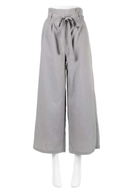 RibbonTiedWideLegPantsレーヨン混・リボンワイドパンツ大人カジュアルに最適な海外ファッションのothers(その他インポートアイテム)のボトムやパンツ。春らしいソフトな風合いの生地を使用したワイドパンツ。レーヨン混のサラリとした風合いのワイドパンツ。/main-5