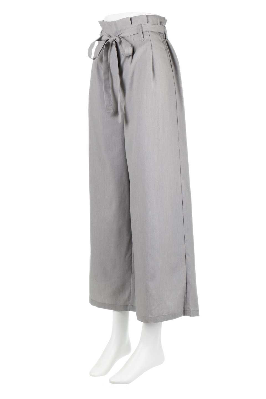 RibbonTiedWideLegPantsレーヨン混・リボンワイドパンツ大人カジュアルに最適な海外ファッションのothers(その他インポートアイテム)のボトムやパンツ。春らしいソフトな風合いの生地を使用したワイドパンツ。レーヨン混のサラリとした風合いのワイドパンツ。/main-6
