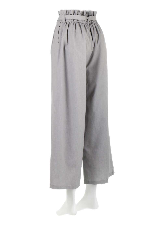 RibbonTiedWideLegPantsレーヨン混・リボンワイドパンツ大人カジュアルに最適な海外ファッションのothers(その他インポートアイテム)のボトムやパンツ。春らしいソフトな風合いの生地を使用したワイドパンツ。レーヨン混のサラリとした風合いのワイドパンツ。/main-8