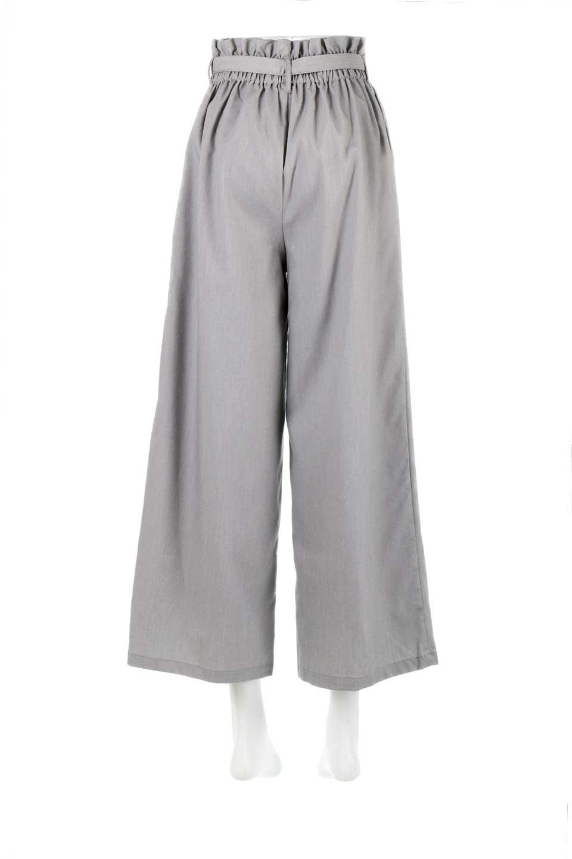 RibbonTiedWideLegPantsレーヨン混・リボンワイドパンツ大人カジュアルに最適な海外ファッションのothers(その他インポートアイテム)のボトムやパンツ。春らしいソフトな風合いの生地を使用したワイドパンツ。レーヨン混のサラリとした風合いのワイドパンツ。/main-9