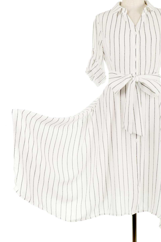 HandWrittenStripedShirtDressストライプ・シャツワンピースfromDenmark大人カジュアルに最適な海外ファッションのothers(その他インポートアイテム)のワンピースやミディワンピース。春夏の爽やかな時期にぴったりなシャツワンピース。大人っぽいスキッパーカラー、カジュアルなストライプ柄、ヒラヒラ揺れるフェミニンな裾のデザイン。/main-14