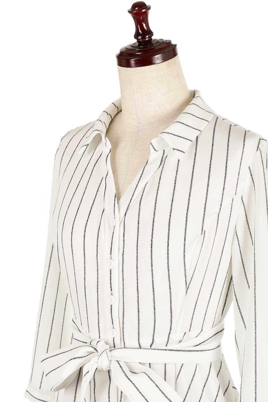 HandWrittenStripedShirtDressストライプ・シャツワンピースfromDenmark大人カジュアルに最適な海外ファッションのothers(その他インポートアイテム)のワンピースやミディワンピース。春夏の爽やかな時期にぴったりなシャツワンピース。大人っぽいスキッパーカラー、カジュアルなストライプ柄、ヒラヒラ揺れるフェミニンな裾のデザイン。/main-5
