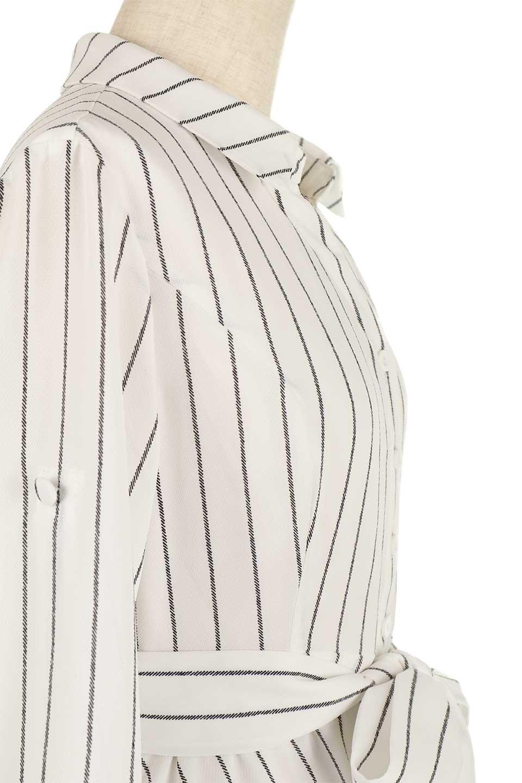 HandWrittenStripedShirtDressストライプ・シャツワンピースfromDenmark大人カジュアルに最適な海外ファッションのothers(その他インポートアイテム)のワンピースやミディワンピース。春夏の爽やかな時期にぴったりなシャツワンピース。大人っぽいスキッパーカラー、カジュアルなストライプ柄、ヒラヒラ揺れるフェミニンな裾のデザイン。/main-6
