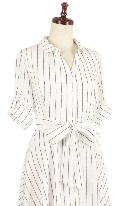 HandWrittenStripedShirtDressストライプ・シャツワンピースfromDenmark大人カジュアルに最適な海外ファッションのothers(その他インポートアイテム)のワンピースやミディワンピース。春夏の爽やかな時期にぴったりなシャツワンピース。大人っぽいスキッパーカラー、カジュアルなストライプ柄、ヒラヒラ揺れるフェミニンな裾のデザイン。/main-8