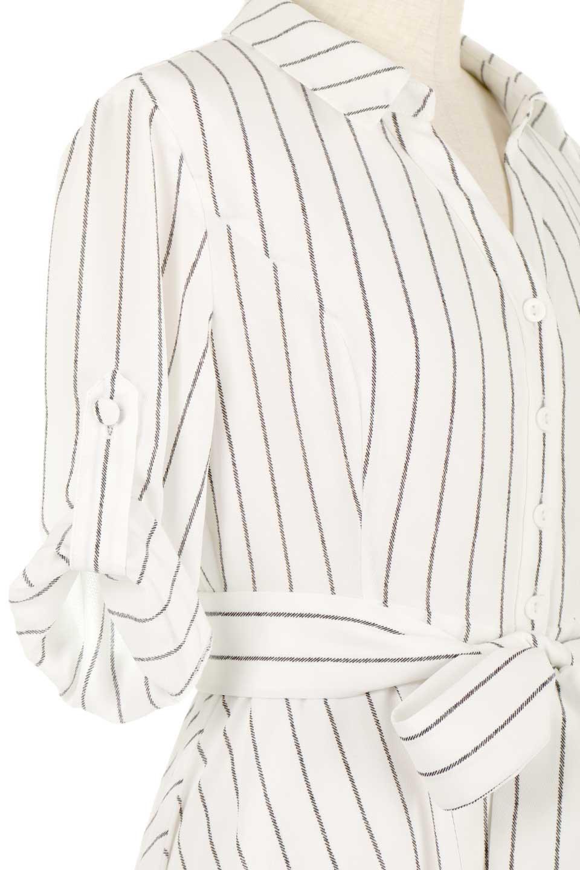 HandWrittenStripedShirtDressストライプ・シャツワンピースfromDenmark大人カジュアルに最適な海外ファッションのothers(その他インポートアイテム)のワンピースやミディワンピース。春夏の爽やかな時期にぴったりなシャツワンピース。大人っぽいスキッパーカラー、カジュアルなストライプ柄、ヒラヒラ揺れるフェミニンな裾のデザイン。/main-9