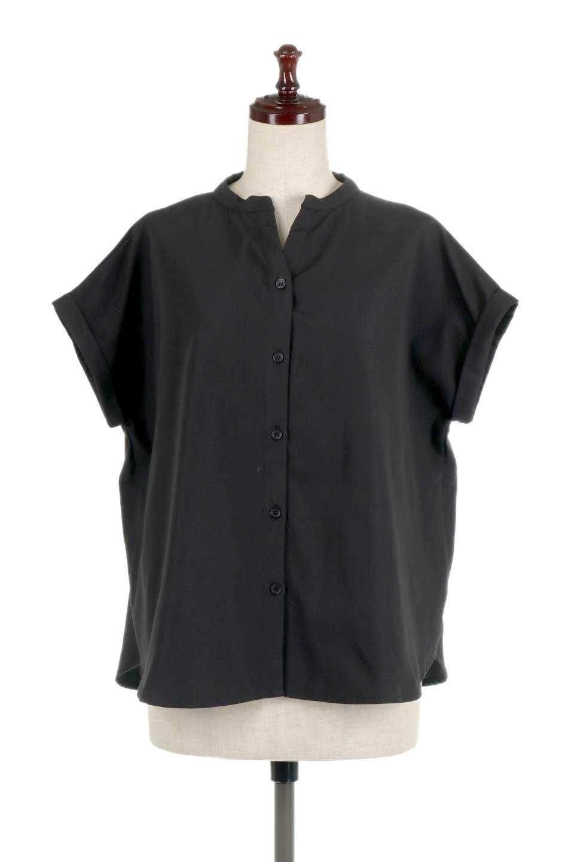 BackGatheredLoseBlouseバックギャザー・半袖ブラウス大人カジュアルに最適な海外ファッションのothers(その他インポートアイテム)のトップスやシャツ・ブラウス。春の装いにピッタリの大きめブラウス。背中のギャザーがバックスタイルを可愛く見せてくれます。/main-15