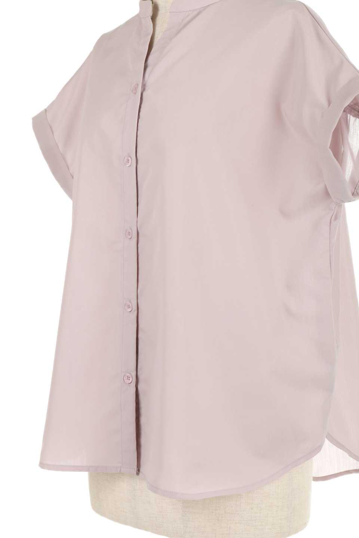 BackGatheredLoseBlouseバックギャザー・半袖ブラウス大人カジュアルに最適な海外ファッションのothers(その他インポートアイテム)のトップスやシャツ・ブラウス。春の装いにピッタリの大きめブラウス。背中のギャザーがバックスタイルを可愛く見せてくれます。/main-24