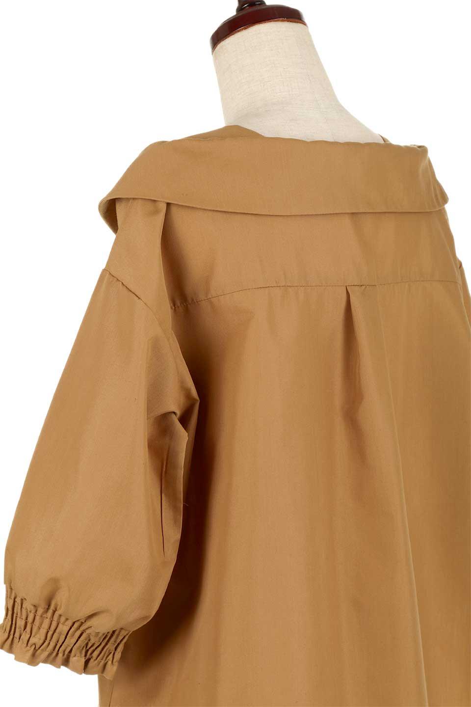 3/4SleeveFoldedCollarblouse7分袖・フォールドカラーブラウス大人カジュアルに最適な海外ファッションのothers(その他インポートアイテム)のトップスやシャツ・ブラウス。襟元が特徴のフォールドカラーブラウス。背中を抜いたときのシルエットが絶品の春ブラウス。/main-12