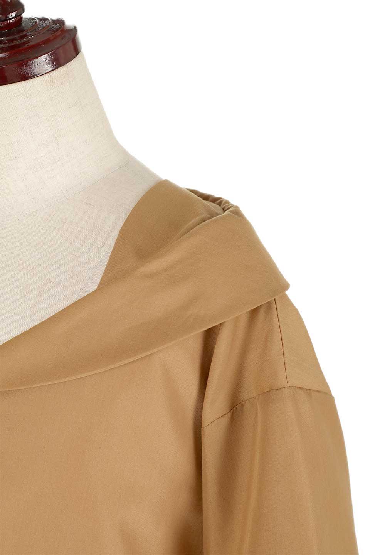 3/4SleeveFoldedCollarblouse7分袖・フォールドカラーブラウス大人カジュアルに最適な海外ファッションのothers(その他インポートアイテム)のトップスやシャツ・ブラウス。襟元が特徴のフォールドカラーブラウス。背中を抜いたときのシルエットが絶品の春ブラウス。/main-13
