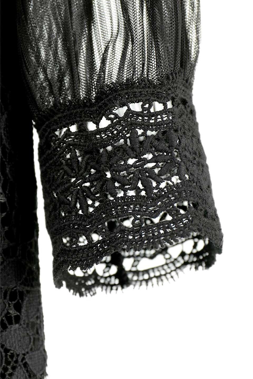 LongSleeveFullLaceDressハイネック・フルレースワンピース大人カジュアルに最適な海外ファッションのothers(その他インポートアイテム)のワンピースやミディワンピース。低めのハイネックが可愛いミディ丈レースワンピース。袖には腕が細く見えるようなレースを用いて全体的にスッキリしたシルエットになっています。/main-17
