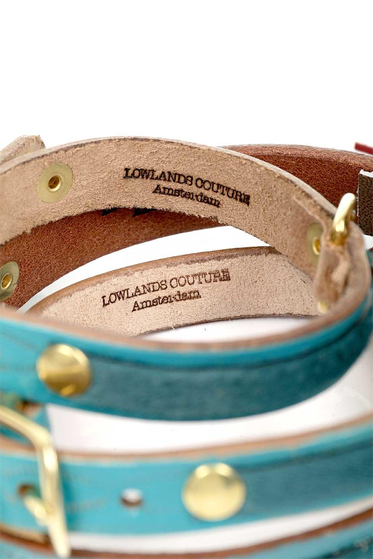LowlandsCOUTUREのWildRomance#14ワイルドロマンス#14・本革ドッグカラー/LowlandsCoutureのドッググッズや。エイジング加工のレザーとハラコの組み合わせが可愛い本革ドッグカラー。濃いめのブルーグリーンにワインレッドの本革タッセルで高級感を感じる色のコンビネーションが最高にシックです。/main-9