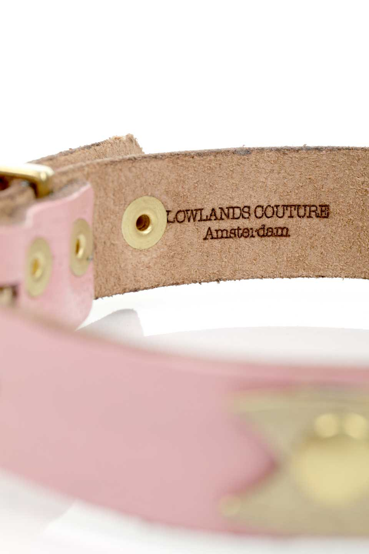 LowlandsCOUTUREのWildRomance#1SPワイルドロマンス#1SP・本革ドッグカラー/LowlandsCoutureのドッググッズや。エイジング加工のレザーとハラコの組み合わせが可愛い本革ドッグカラー。LowlandsCoutureのオーナーがbloomのために作ってくれた、ワイルドロマンス#1のレオパードバージョンです。/main-9