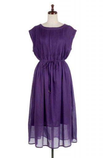 海外ファッションや大人カジュアルに最適なインポートセレクトアイテムのIndia Cotton Pin Tucked Dress インドコットン・ピンタックワンピース