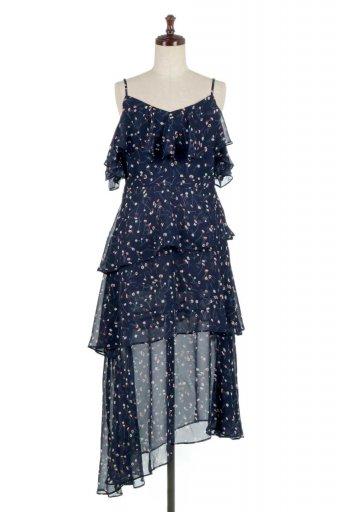 Ruffle Sleeve Botanical Printed Dress ラッフルスリーブ・ボタニカルワンピース from Denmark / 大人カジュアルに最適な海外ファッションが得意な福島市のセレクトショップbloom