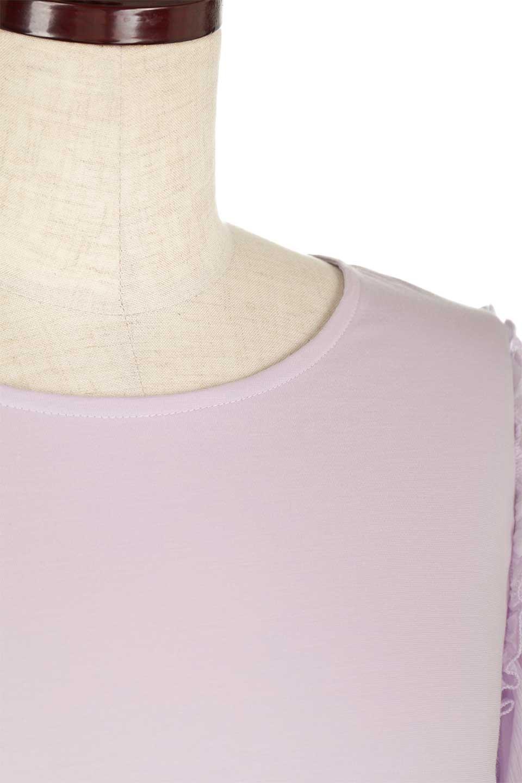 FlareSleeveChiffonTeeTopフレアスリーブ・シフォントップスfromDenmark大人カジュアルに最適な海外ファッションのothers(その他インポートアイテム)のトップスやカットソー。大きめのフレアスリーブがとても可愛い半袖トップス。ストレッチ素材の身頃と透け感のあるフレアスリーブの異素材ミックスが特徴。/main-16