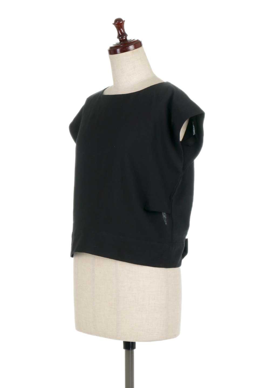 BackRibbonFrenchSleeveBlouseバックリボン付き・フレンチスリーブブラウス大人カジュアルに最適な海外ファッションのothers(その他インポートアイテム)のトップスやシャツ・ブラウス。短めのフレンチスリーブのリネンタッチ生地のブラウス。シンプルなボックス型のシルエットに腰部分のリボンのアクセントが可愛いアイテムです。/main-16
