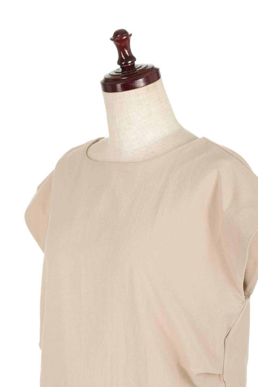 BackRibbonFrenchSleeveBlouseバックリボン付き・フレンチスリーブブラウス大人カジュアルに最適な海外ファッションのothers(その他インポートアイテム)のトップスやシャツ・ブラウス。短めのフレンチスリーブのリネンタッチ生地のブラウス。シンプルなボックス型のシルエットに腰部分のリボンのアクセントが可愛いアイテムです。/main-20