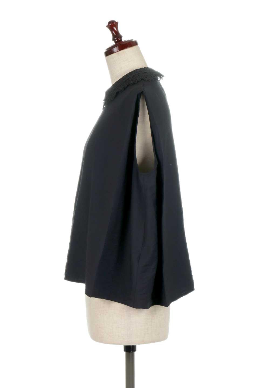 LaceCollarBoxBlouseレースカラー・ボックス型ブラウス大人カジュアルに最適な海外ファッションのothers(その他インポートアイテム)のトップスやシャツ・ブラウス。レースの襟がポイントのプルオーバーブラウス。スクエア型のユニークなシルエットはインでもアウトでも合わせやすいデザイン。/main-17