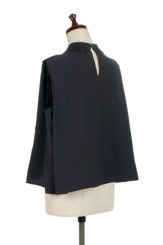 LaceCollarBoxBlouseレースカラー・ボックス型ブラウス大人カジュアルに最適な海外ファッションのothers(その他インポートアイテム)のトップスやシャツ・ブラウス。レースの襟がポイントのプルオーバーブラウス。スクエア型のユニークなシルエットはインでもアウトでも合わせやすいデザイン。/main-18