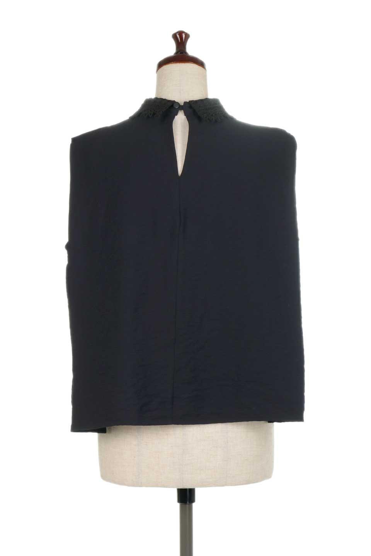 LaceCollarBoxBlouseレースカラー・ボックス型ブラウス大人カジュアルに最適な海外ファッションのothers(その他インポートアイテム)のトップスやシャツ・ブラウス。レースの襟がポイントのプルオーバーブラウス。スクエア型のユニークなシルエットはインでもアウトでも合わせやすいデザイン。/main-19