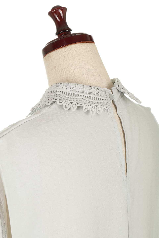 LaceCollarBoxBlouseレースカラー・ボックス型ブラウス大人カジュアルに最適な海外ファッションのothers(その他インポートアイテム)のトップスやシャツ・ブラウス。レースの襟がポイントのプルオーバーブラウス。スクエア型のユニークなシルエットはインでもアウトでも合わせやすいデザイン。/main-21