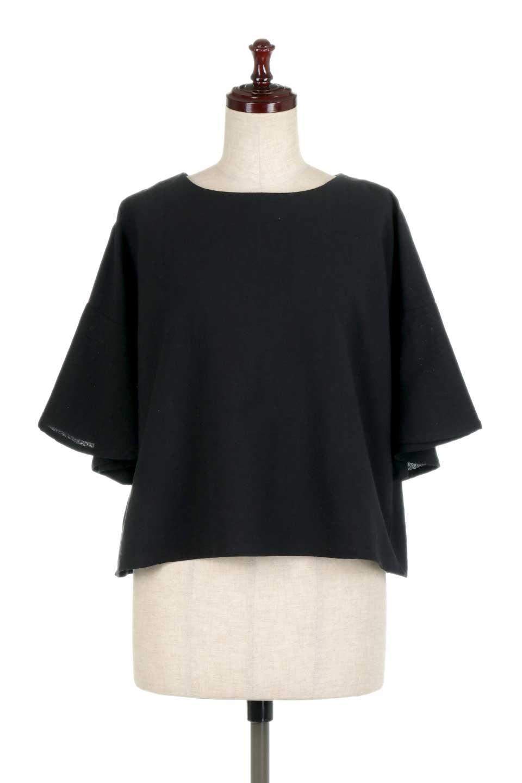 BackTuckFlareSleeveBlouseバックタック・フレアスリーブブラウス大人カジュアルに最適な海外ファッションのothers(その他インポートアイテム)のトップスやシャツ・ブラウス。サラリとしたリネン風の生地が涼し気なブラウス。広めのフレアスリーブとタックの入った身頃がボリューミーなアイテム。/main-10