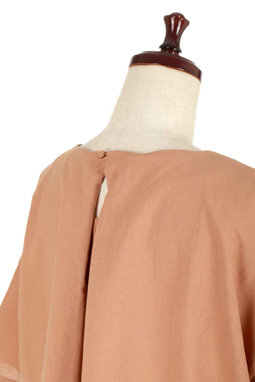 BackTuckFlareSleeveBlouseバックタック・フレアスリーブブラウス大人カジュアルに最適な海外ファッションのothers(その他インポートアイテム)のトップスやシャツ・ブラウス。サラリとしたリネン風の生地が涼し気なブラウス。広めのフレアスリーブとタックの入った身頃がボリューミーなアイテム。/main-18
