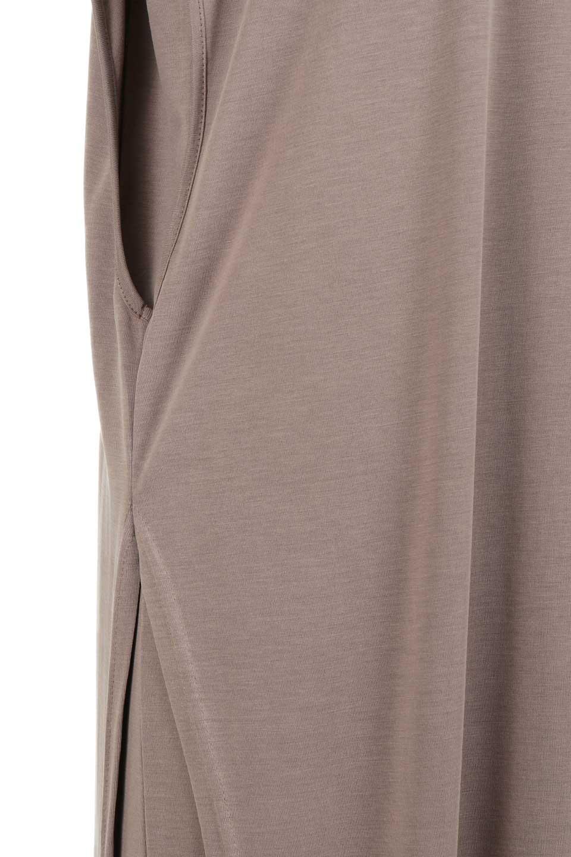 Cut&SewnLayeredDressレイヤード・カットソーワンピース大人カジュアルに最適な海外ファッションのothers(その他インポートアイテム)のワンピースやマキシワンピース。とてもなめらかな肌触りのカットソーワンピース。腰から伸びる両サイドのスリットが特徴です。/main-10