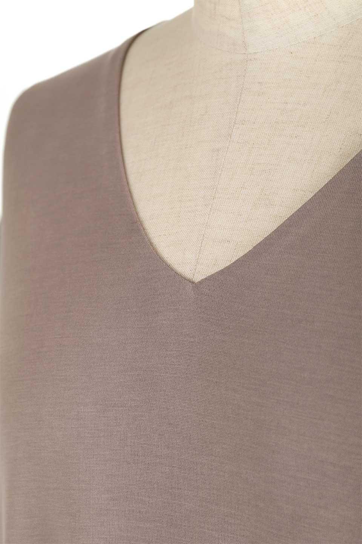 Cut&SewnLayeredDressレイヤード・カットソーワンピース大人カジュアルに最適な海外ファッションのothers(その他インポートアイテム)のワンピースやマキシワンピース。とてもなめらかな肌触りのカットソーワンピース。腰から伸びる両サイドのスリットが特徴です。/main-7