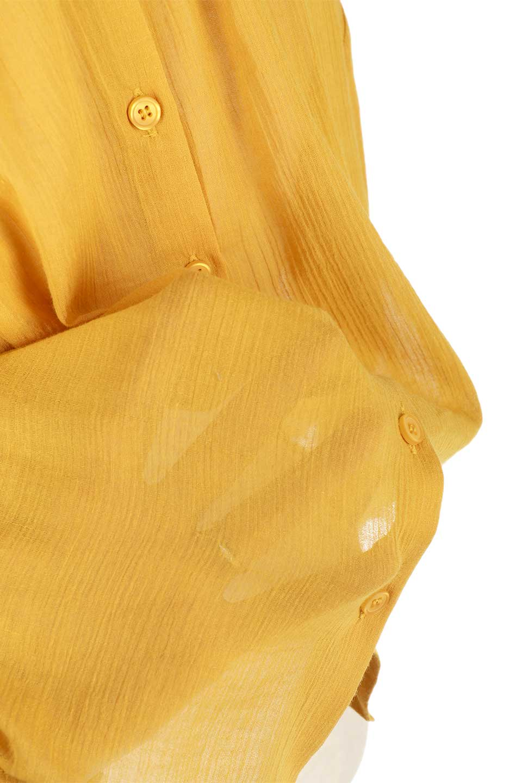 CandySleeve2WayGauzeBlouseキャンディースリーブ・2Wayブラウス大人カジュアルに最適な海外ファッションのothers(その他インポートアイテム)のトップスやシャツ・ブラウス。ソフトなガーゼ生地が気持ち良い7部袖ブラウス。適度な透け感があり、大人っぽい着こなしが楽しめます。/main-21