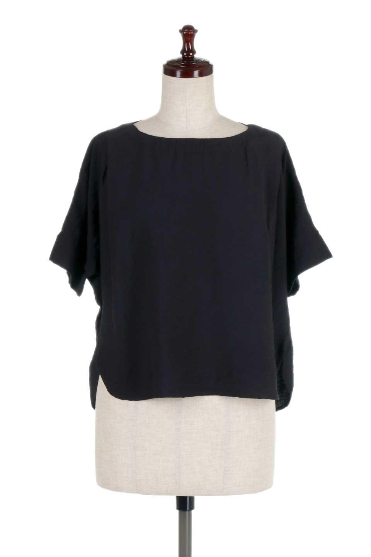 FrontTuckShortSleeveBlouseフロントタックブラウス大人カジュアルに最適な海外ファッションのothers(その他インポートアイテム)のトップスやシャツ・ブラウス。大きめシルエットで抜け感のある半袖ブラウス。短め丈なのでインでもアウトでも楽しめます。/main-15
