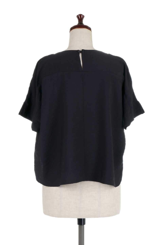FrontTuckShortSleeveBlouseフロントタックブラウス大人カジュアルに最適な海外ファッションのothers(その他インポートアイテム)のトップスやシャツ・ブラウス。大きめシルエットで抜け感のある半袖ブラウス。短め丈なのでインでもアウトでも楽しめます。/main-19
