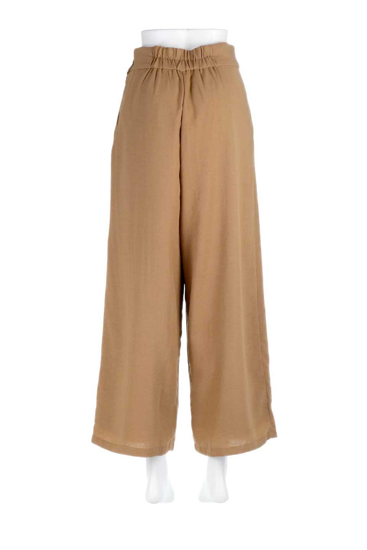 SideButtonWidePantsサイドボタン・ガーゼワイドパンツ大人カジュアルに最適な海外ファッションのothers(その他インポートアイテム)のボトムやパンツ。ソフトな生地でシンプルなワイドパンツ。Eガーゼの優しい風合いが活きるワイドなシルエット。/main-19