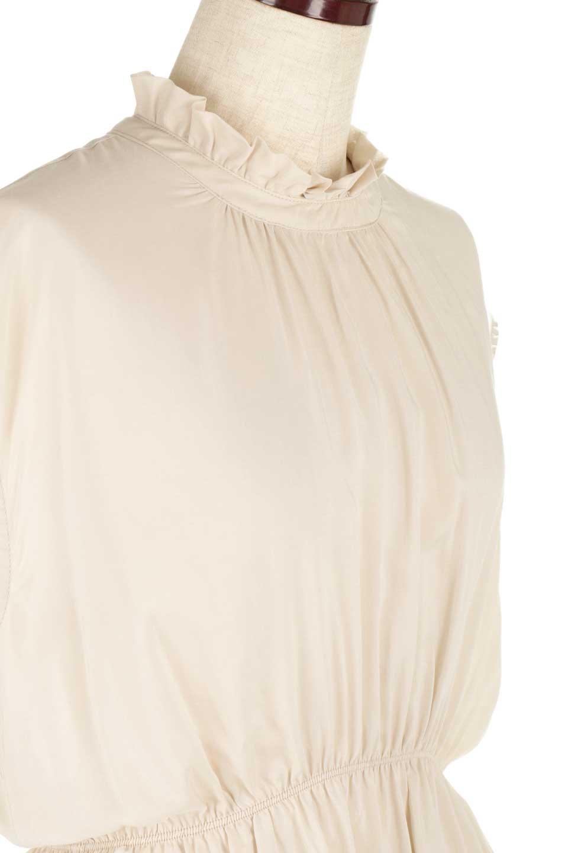 FrilledNeckSleevelessBlouseギャザーネック・ノースリーブブラウス大人カジュアルに最適な海外ファッションのothers(その他インポートアイテム)のトップスやシャツ・ブラウス。フリルの首元が可愛いノースリーブブラウス。ゆったりシルエットですがウエストのギャザーが引き締めてくれます。/main-20