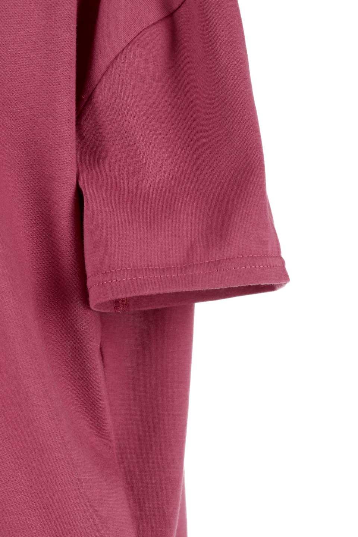 DrapeBackPull-overTopバックドレープ・カットソー大人カジュアルに最適な海外ファッションのothers(その他インポートアイテム)のトップスやシャツ・ブラウス。背中のドレープ感が可愛い半袖カットソー。やや厚めのTシャツ素材でこれからの季節におすすめのアイテムです。/main-25