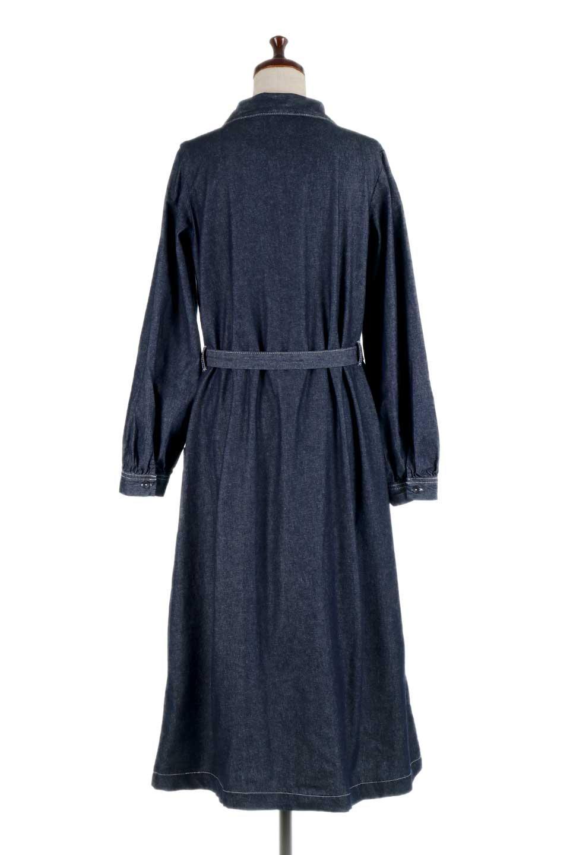 FullOpenDenimLongShirtsDressデニム・ロングシャツワンピース大人カジュアルに最適な海外ファッションのothers(その他インポートアイテム)のワンピースやマキシワンピース。大人気のシャツワンピースのデニム版。シャツのような薄手のデニムを使用した春夏バージョンです。/main-14