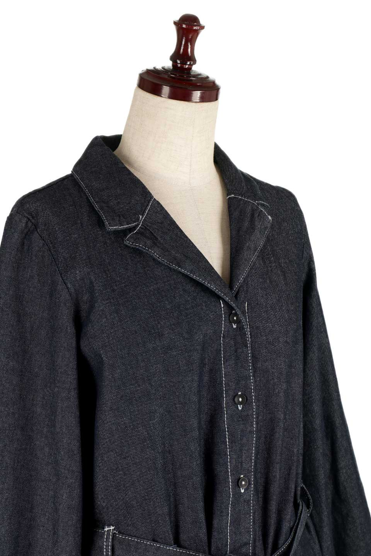 FullOpenDenimLongShirtsDressデニム・ロングシャツワンピース大人カジュアルに最適な海外ファッションのothers(その他インポートアイテム)のワンピースやマキシワンピース。大人気のシャツワンピースのデニム版。シャツのような薄手のデニムを使用した春夏バージョンです。/main-15