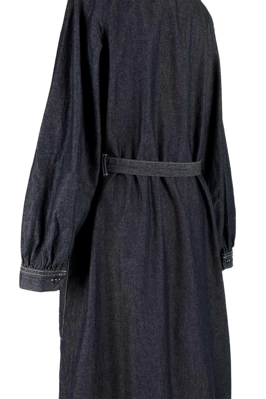 FullOpenDenimLongShirtsDressデニム・ロングシャツワンピース大人カジュアルに最適な海外ファッションのothers(その他インポートアイテム)のワンピースやマキシワンピース。大人気のシャツワンピースのデニム版。シャツのような薄手のデニムを使用した春夏バージョンです。/main-17