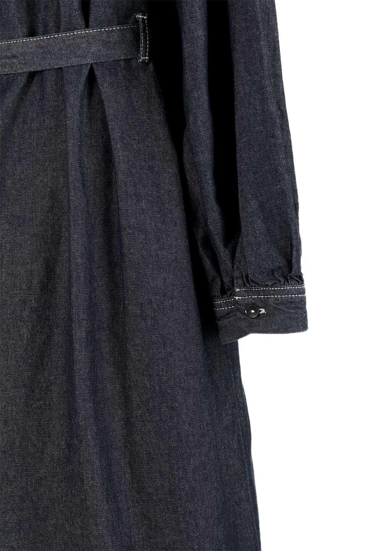 FullOpenDenimLongShirtsDressデニム・ロングシャツワンピース大人カジュアルに最適な海外ファッションのothers(その他インポートアイテム)のワンピースやマキシワンピース。大人気のシャツワンピースのデニム版。シャツのような薄手のデニムを使用した春夏バージョンです。/main-18