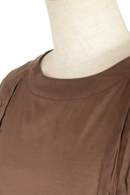 ShortSleeveTuckBlouseタック入り・半袖ブラウス大人カジュアルに最適な海外ファッションのothers(その他インポートアイテム)のトップスやシャツ・ブラウス。前後のタックがアクセントの大きめブラウス。あえてのスケ感がとても可愛いアイテムです。/main-20