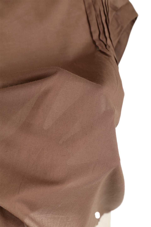 ShortSleeveTuckBlouseタック入り・半袖ブラウス大人カジュアルに最適な海外ファッションのothers(その他インポートアイテム)のトップスやシャツ・ブラウス。前後のタックがアクセントの大きめブラウス。あえてのスケ感がとても可愛いアイテムです。/main-26
