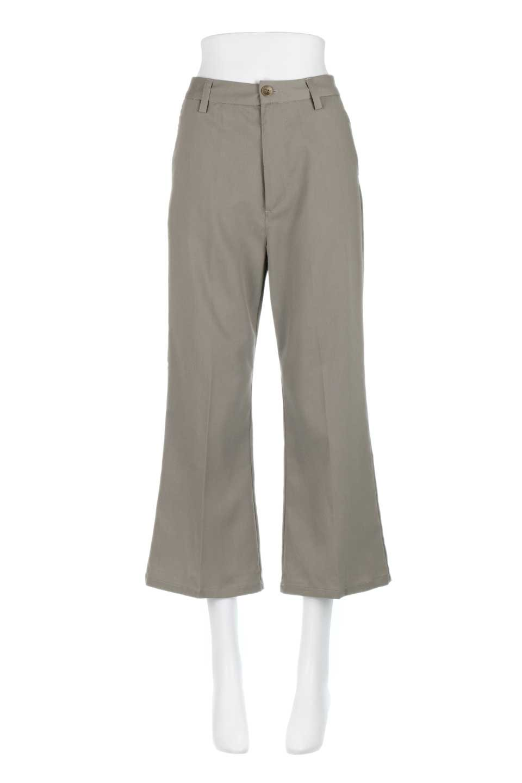CroppedFlarePantsクロップド・フレアパンツ大人カジュアルに最適な海外ファッションのothers(その他インポートアイテム)のボトムやパンツ。程よい丈の長さのクロップドぱパンツ。膝から裾にかけてのフレアが綺麗なアイテムです。/main-10