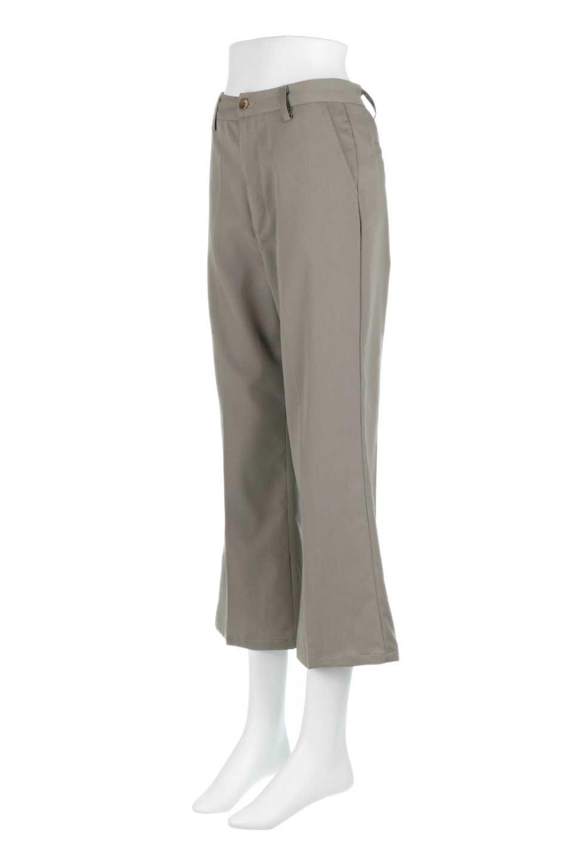 CroppedFlarePantsクロップド・フレアパンツ大人カジュアルに最適な海外ファッションのothers(その他インポートアイテム)のボトムやパンツ。程よい丈の長さのクロップドぱパンツ。膝から裾にかけてのフレアが綺麗なアイテムです。/main-11