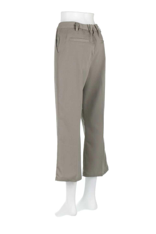 CroppedFlarePantsクロップド・フレアパンツ大人カジュアルに最適な海外ファッションのothers(その他インポートアイテム)のボトムやパンツ。程よい丈の長さのクロップドぱパンツ。膝から裾にかけてのフレアが綺麗なアイテムです。/main-13