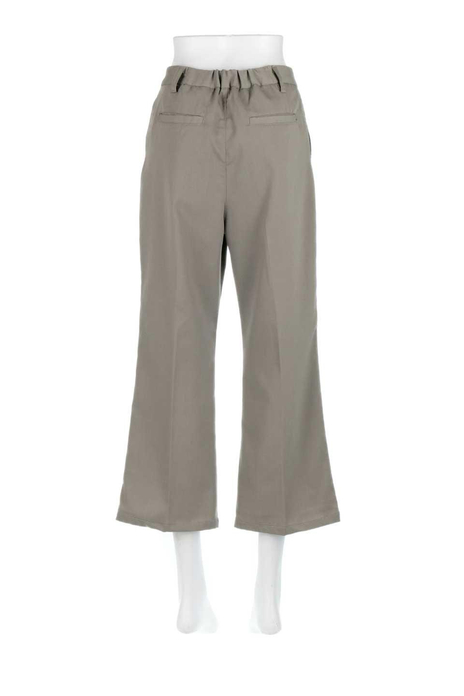 CroppedFlarePantsクロップド・フレアパンツ大人カジュアルに最適な海外ファッションのothers(その他インポートアイテム)のボトムやパンツ。程よい丈の長さのクロップドぱパンツ。膝から裾にかけてのフレアが綺麗なアイテムです。/main-14
