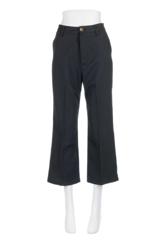 CroppedFlarePantsクロップド・フレアパンツ大人カジュアルに最適な海外ファッションのothers(その他インポートアイテム)のボトムやパンツ。程よい丈の長さのクロップドぱパンツ。膝から裾にかけてのフレアが綺麗なアイテムです。/main-15
